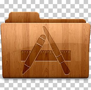Wood Angle Table PNG