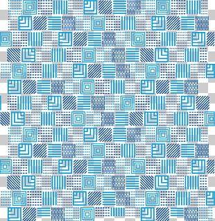 Blue Line Euclidean Technology PNG