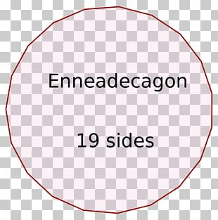 Enneadecagon Internal Angle Regular Polygon PNG