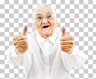 Thumb Signal Stock Photography Old Age Smile PNG