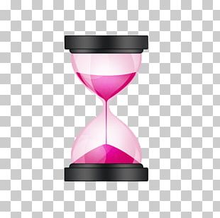 Hourglass Sand Clock Icon PNG