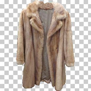 Fur Clothing American Mink Coat Jacket PNG