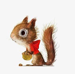 Cartoon Squirrel PNG