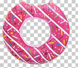 Donuts Frosting & Icing Swim Ring Inflatable PNG