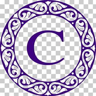Letter Monogram Initial PNG