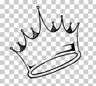 Drawing Crown Line Art PNG