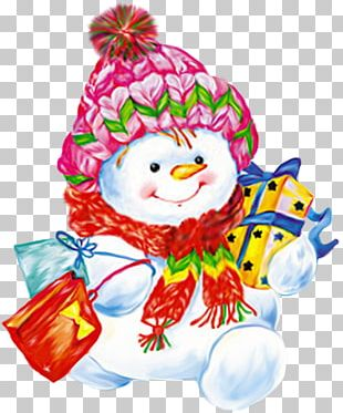 Snowman Christmas Snow Baby PNG