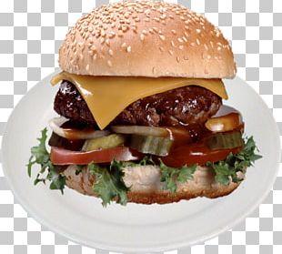 Cheeseburger Barbecue Hamburger Whopper Fast Food PNG