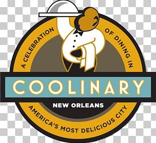 COOLinary New Orleans Restaurant Logo Gumbo Chef PNG