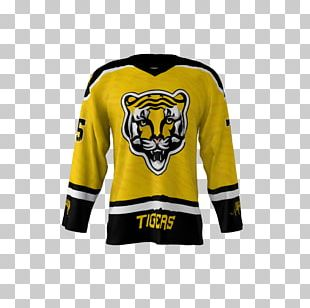 T-shirt Hockey Jersey Detroit Tigers Ice Hockey PNG