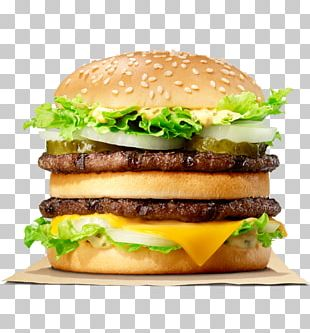 Big King Whopper Hamburger Cheeseburger McDonald's Big Mac PNG