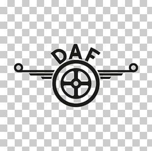 DAF Trucks Car Logo Sticker PNG