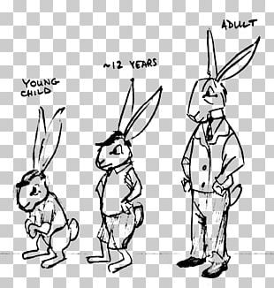 Domestic Rabbit Anthropomorphism Drawing Funny Animal Furry Fandom PNG