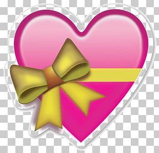 Emoji Sticker Heart Emoticon PNG