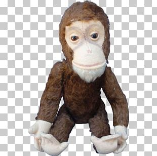 Primate Stuffed Animals & Cuddly Toys Monkey Fur PNG