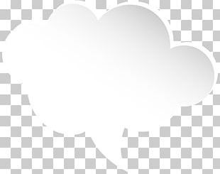 Black And White Cloud Pattern PNG