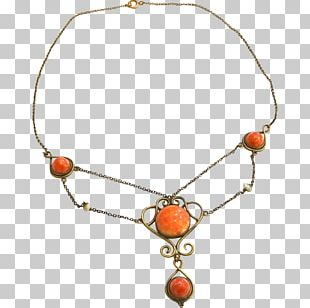 Necklace Bead Gold-filled Jewelry Art Nouveau Jewellery PNG