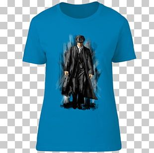 T-shirt Tommy Shelby Crew Neck Sleeve PNG
