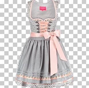 Dirndl Apron Folk Costume Dress Skirt PNG