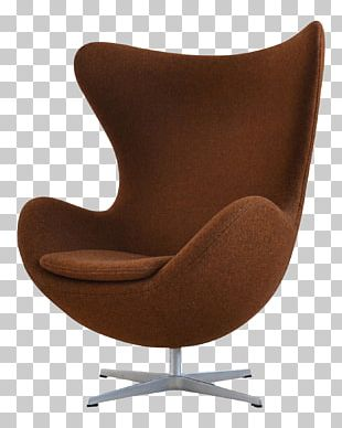 Egg Eames Lounge Chair Couch Danish Modern PNG