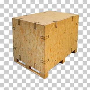 Plywood Wooden Box Packaging And Labeling Paletizado PNG