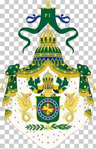 Empire Of Brazil Coat Of Arms Of Brazil Supporter PNG