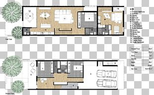 Floor Plan Terraced House Architecture PNG