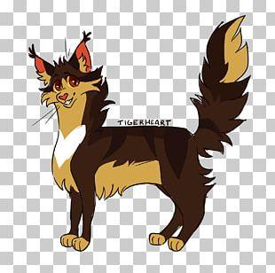 Cat Night Whispers Warriors Tigerstar Tigerheart PNG