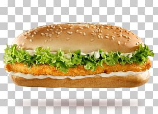 Salmon Burger Whopper Cheeseburger Breakfast Sandwich Hamburger PNG
