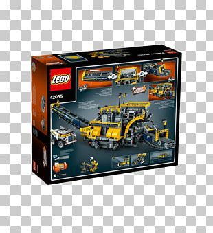 Lego Technic Bucket-wheel Excavator Toy LEGO 42055 Technic Bucket Wheel Excavator PNG
