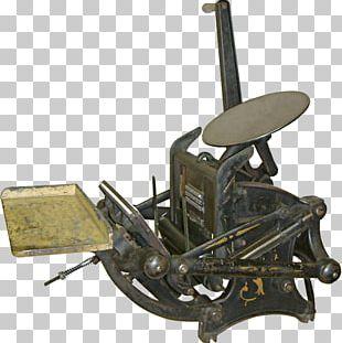 Printing Press Letterpress Printing Ink Platen PNG