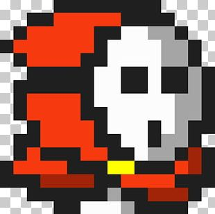 Super Mario Bros. 2 Shy Guy Video Game 8-bit PNG