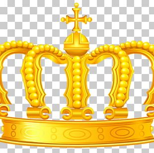 Crown Gold Drawing PNG
