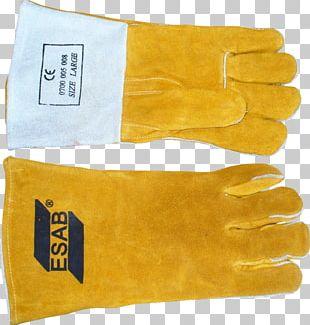 Glove Gas Tungsten Arc Welding ESAB Leather PNG