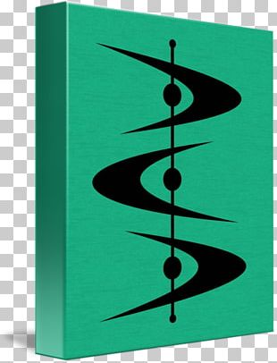 Mid-century Modern Graphic Arts Painting Canvas Print PNG