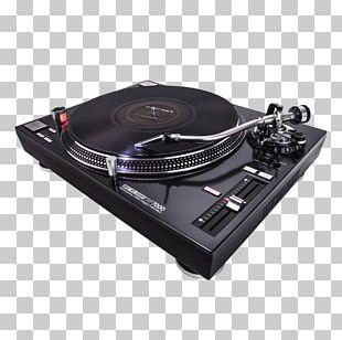 Direct-drive Turntable Phonograph Reloop RP-8000 Turntablism PNG
