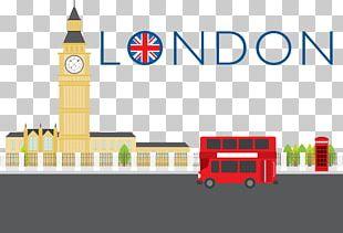 London Cartoon Illustration PNG