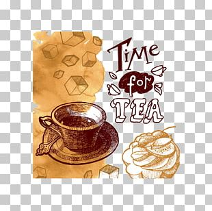 Tea Party Coffee Poster PNG