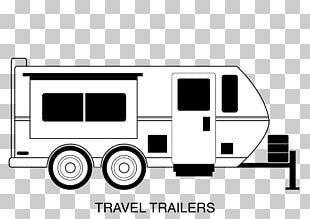Caravan Campervans Trailer PNG