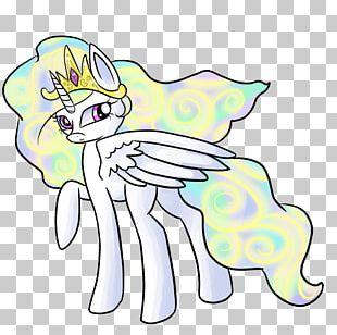 Pony Horse Line Art PNG