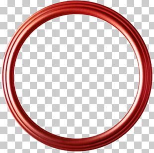 Circle Red Disk Shape PNG