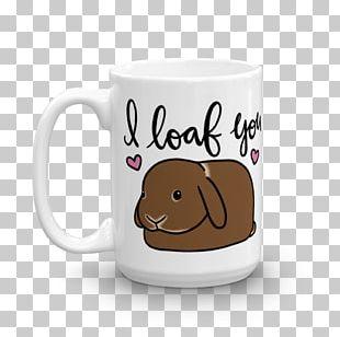 Netherland Dwarf Rabbit Coffee Cup Mug Dutch Rabbit PNG