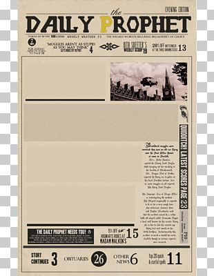 Fictional Universe Of Harry Potter Sirius Black Harry Potter And The Prisoner Of Azkaban Newspaper PNG