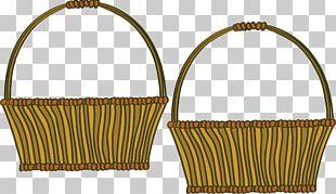 Basket Wicker Cartoon PNG