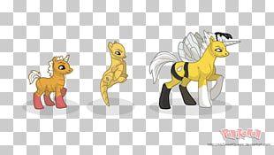 Pony Digital Art Cartoon Illustration 4 February PNG