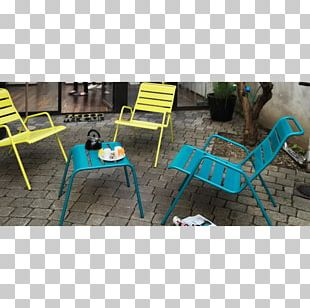 Table Footstool Chair Garden Furniture PNG