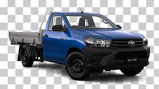 Toyota Hilux Car Pickup Truck Four-wheel Drive PNG