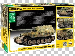 Germany Tank Destroyer 1:35 Scale Elefant PNG