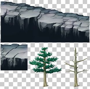 PlayStation 3 Tree Pine Rock Building PNG