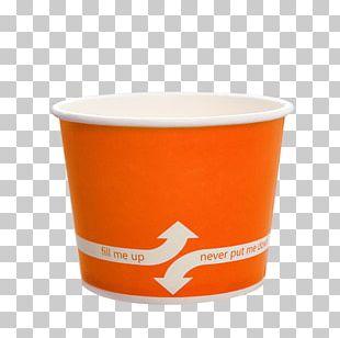 Frozen Yogurt Paper Ice Cream Bubble Tea Food Storage Containers PNG